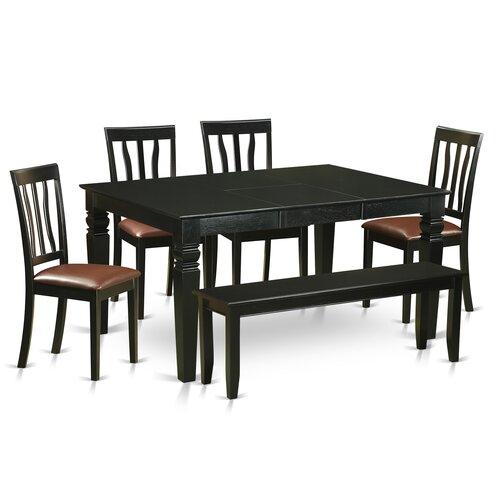 Charlton Home Sorrentino 6 Piece Dining Set Wayfair