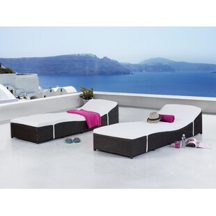 Toupin Chaise Lounge with Cushion