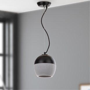 Driskill 1-Light Bowl Pendant by Ebern Designs
