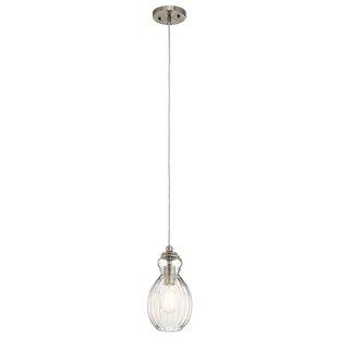 Ebern Designs Mcdougal 1-Light Novelty Pendant