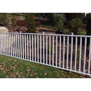 4u0027 X 7u0027 Birkdale Semi Permanent Vinyl Garden Fence