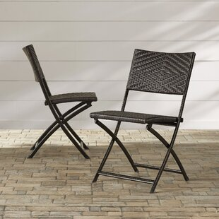 Womack Folding Patio Dining Chair (Set of 2)