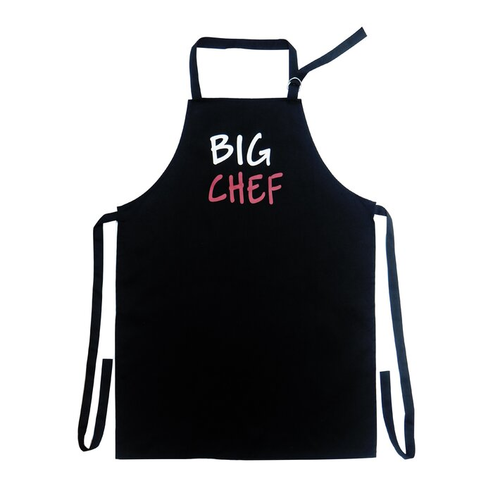 Black 22 by 30-Inch 3dRose apr/_8578/_4 British Bulldog Male-Full Length Apron with Pockets