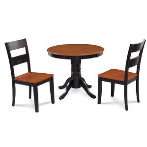 Cedarville Elegant 3 Piece Wood Dining Set by Al..