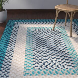 Order Marathovounos Hand-Woven Blue Area Rug By Bay Isle Home
