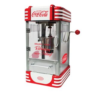 2.5 Oz. Coca-Cola Series Kettle Popcorn Maker