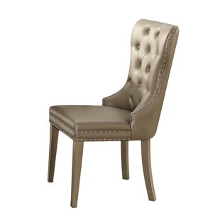 Mooring Upholstered Dining Chair (Set of 2) by House of Hampton