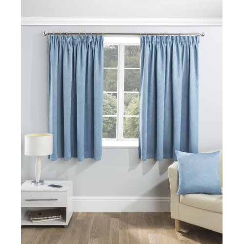 Marie Pencil Pleat Room Darkening Thermal Curtains Zipcode