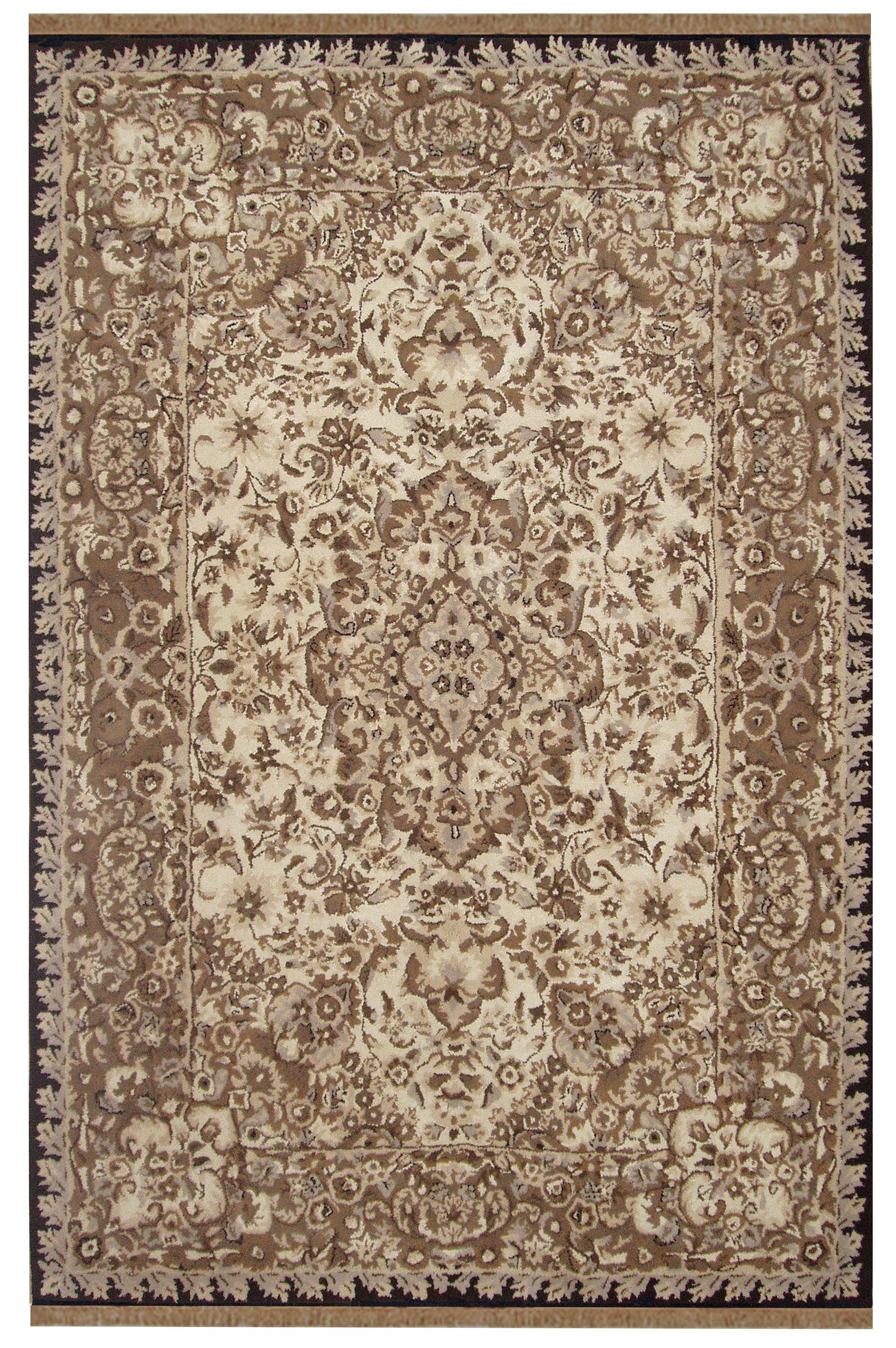 Astoria Grand Mastropietro Oriental Handmade Tufted Wool Taupe Area Rug Wayfair