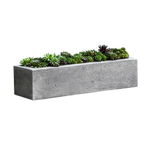 Perfect Faux Stone Planters   Wayfair DB37