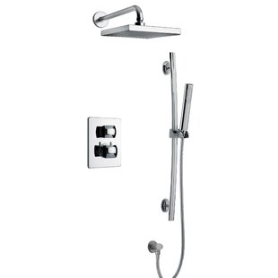 LaToscana Lady Thermostatic Rain Complete Shower System