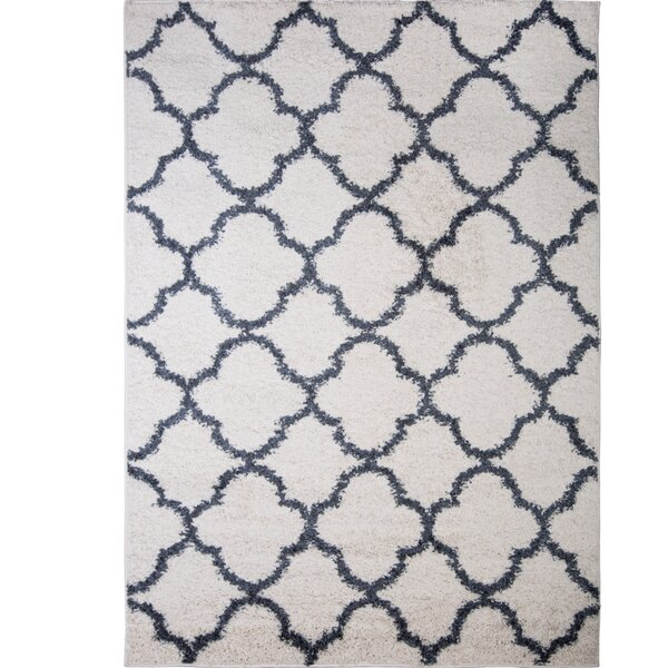 Nicole Miller Synergy Whiteblue Area Rug Reviews Birch Lane