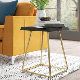 Affordable Mcfall Square End Table by Mercury Row