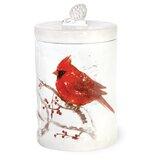 Cardinal Cookie Jar