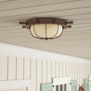 Bonaventure 2-Light Outdoor Flush Mount