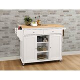 Heanor Kitchen Cart by Alcott Hill®