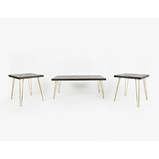 Wrought Studio Escalante 3 Piece Coffee Table Set