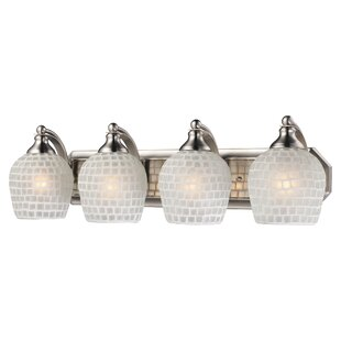 Latitude Run Tiggs 4-Light Vanity Light