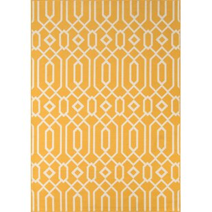 Halliday Yellow Indoor/Outdoor Area Rug
