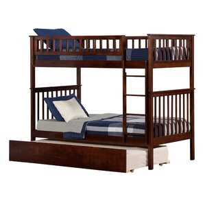 Shyann Twin over Twin Bunk Bed with Trundle by Viv + Rae