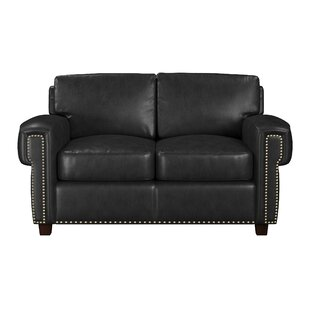 Sioux Leather Loveseat By Westland And Birch