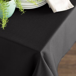 Perfect Wayfair Basics Poplin Rectangular Tablecloth