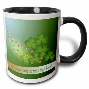 Arelious ST Patrick Day Design May Each Day Bring You Bright Happy Hours Coffee Mug