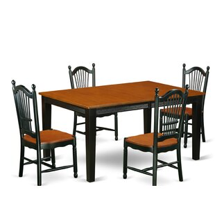 August Grove Pilger 5 Piece Dining Set