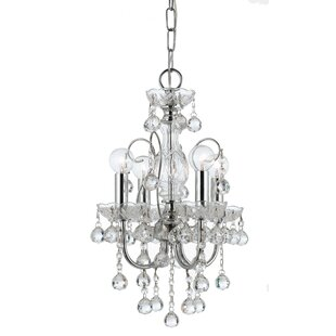 Axton 4-Light Candle Style Chandelier by House of Hampton