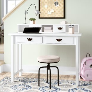 Amanda Mission Writing Desk with Hutch