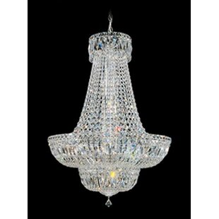 Schonbek Petit Crystal Deluxe 16-Light Chandelier