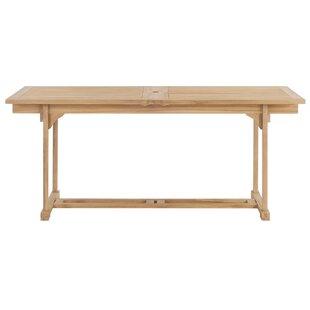 Cheap Price Extendable/Folding Teak Dining Table