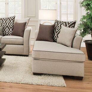 A&J Homes Studio Stewart Chaise Lounge