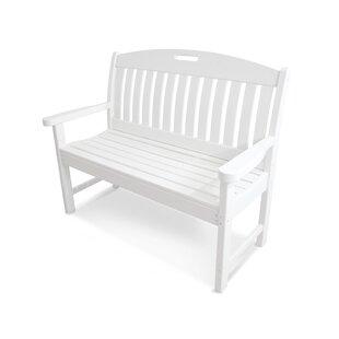 POLYWOOD® Nautical Plastic Garden Bench