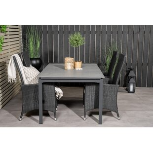 Albane 4 Seater Dining Set With Cushions By Sol 72 Outdoor