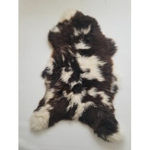Looking for Bueno Sheepskin Brown/White Area Rug By Union Rustic