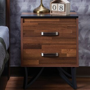 Inexpensive Camarillo Square 2 Drawer Nightstand by Williston Forge