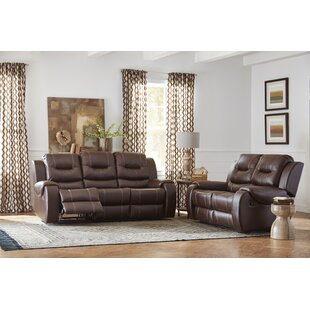 Daigre Reclining 2 Piece Living Room Set by