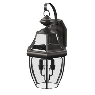 Brawner 2-Light Outdoor Wall Lantern