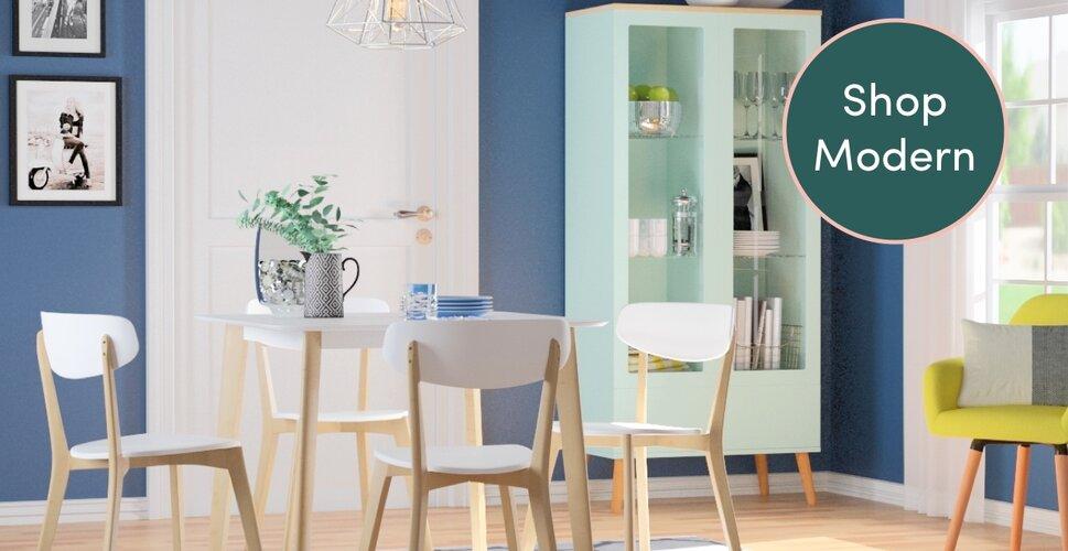 Modern Kitchen Dining Room