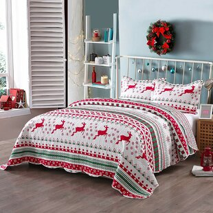 Rooney Printed Reversible Quilt Set