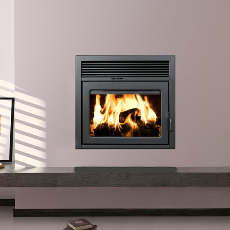 Supreme Fireplaces Inc. Galaxy Zero Clearance Semi-Classic Wall ...