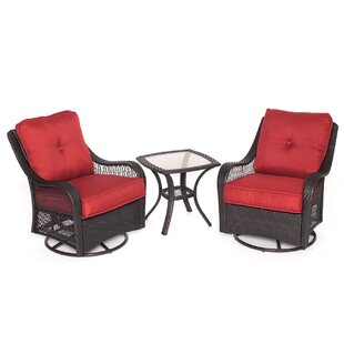 Innsbrook 3 Piece Conversation Set with Cushions