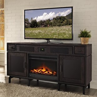 Soho TV Console with Surround Sound and Fireplace
