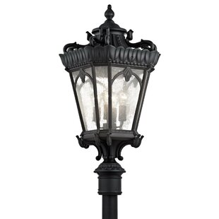 Fleur De Lis Living Guzzi Outdoor 4-Light Lantern Head