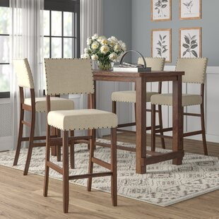 Orth 5 Piece Pub Table Set Gracie Oaks