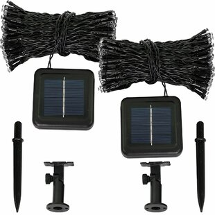 The Holiday Aisle Boswell LED Solar Powered String Light