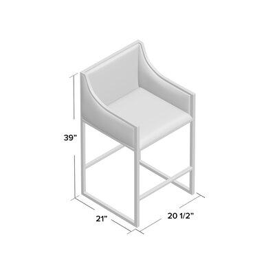 Astonishing Worldsaway 255 Counter Height Stool Base Color Brass Evergreenethics Interior Chair Design Evergreenethicsorg