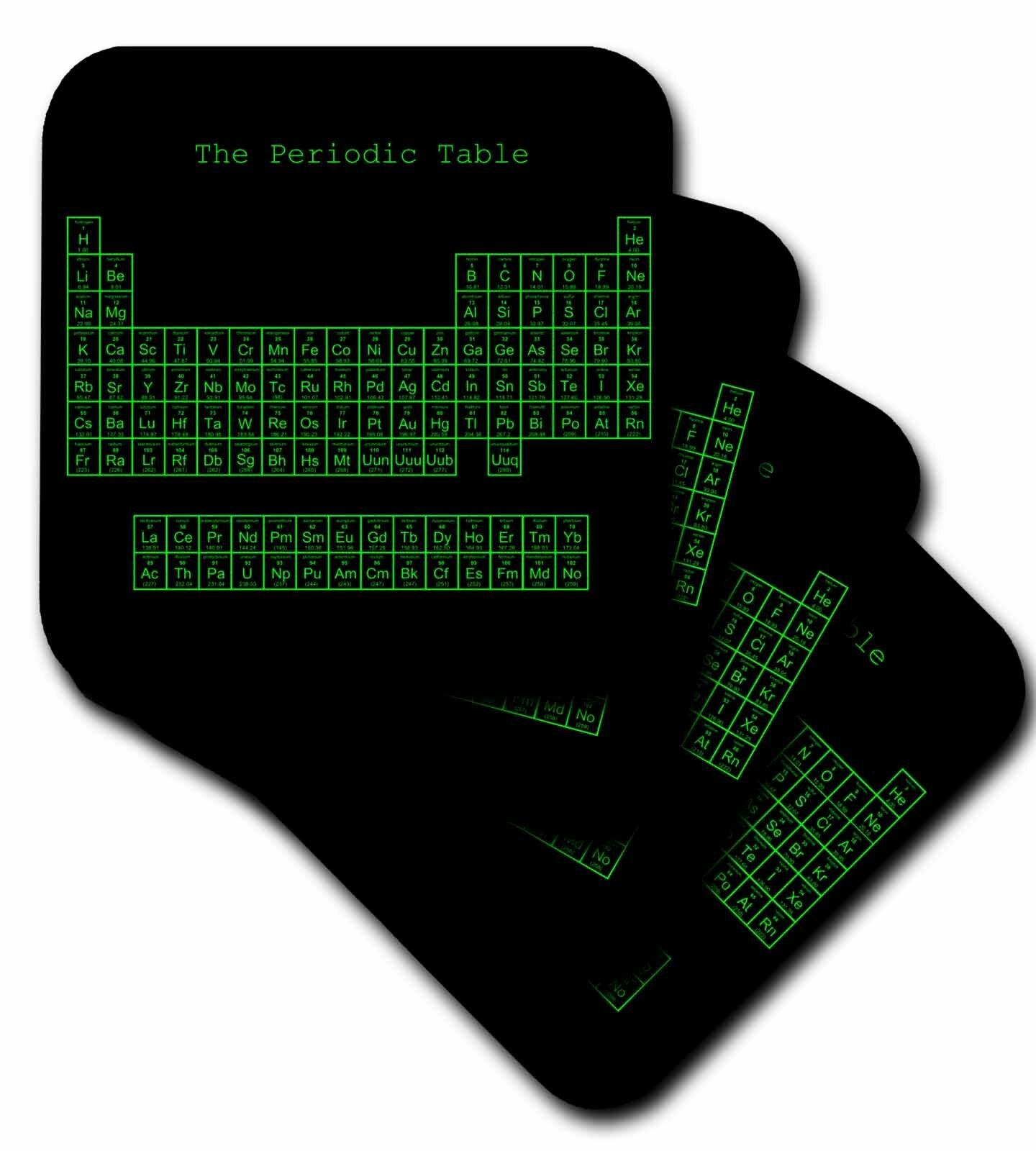 Ebern Designs Periodic Table Ceramic Tile Coaster Wayfair