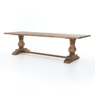 Trestle Solid Wood Dining Table